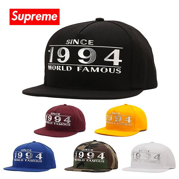 シュプリーム キャップ Supreme 帽子 WAY BACK 5-PANEL CAP ブラック ブルー カモフラ ホワイト SS16H46 【送料無料♪】