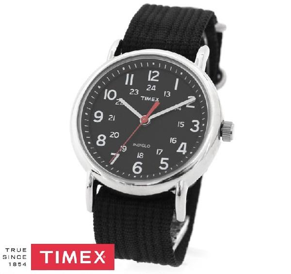 タイメックス 時計 メンズ レディース 国内正規品 TIMEX ウィークエンダー セントラルパーク ブラック 腕時計 T2N647