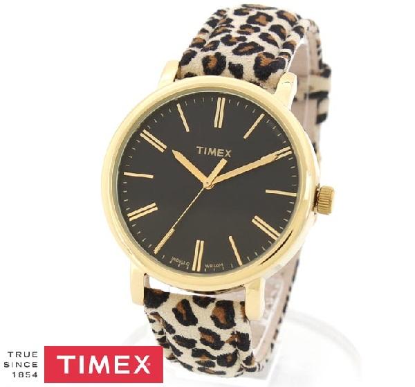 タイメックス 時計 メンズ レディース 国内正規品 TIMEX オリジナルズ アニマル 腕時計 レザー TW2P77900