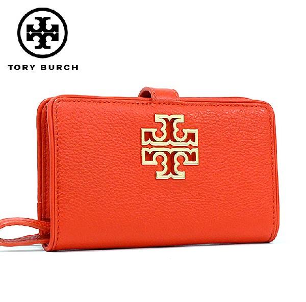 【お買い物マラソンSALE価格!】 トリーバーチ スマホケース レディース iphone TORY BURCH Smartphone Case POPPY RED 39062 614 【当店全品送料無料♪】