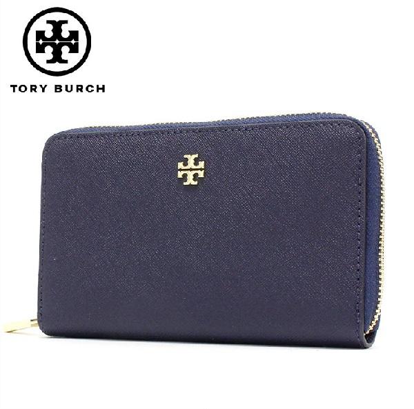 トリーバーチ 長財布 レディース TORY BURCH Wallet ラウンドファスナー 47388 405 【送料無料♪】【あす楽】