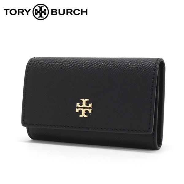 トリーバーチ キーケース レディース TORY BURCH key case ブラック 63975 001 【送料無料♪】