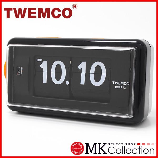 トゥエンコ 置時計インテリア TWEMCO 時計 オシャレ クロック AL-30 BLACK