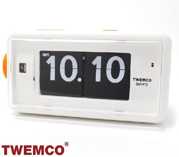 トゥエンコ クロック 置時計インテリア TWEMCO 時計 トゥエンコ オシャレ オシャレ クロック AL-30 WIHTE, プロクルー 国産ハンガーラック:0b270cd0 --- makeitinfiji.com