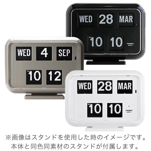 Tenko 时钟灰色真正 TWEMCO 时钟内部手表服饰 QD 35 灰色