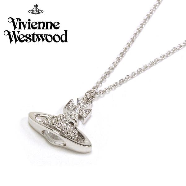 ヴィヴィアン ウエストウッド ネックレス レディース アクセサリー Vivienne Westwood シルバー 63020111W 【送料無料】