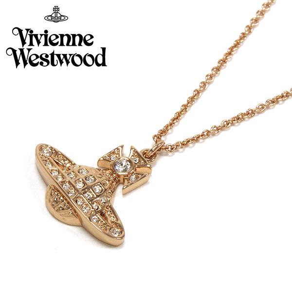 ヴィヴィアン ウエストウッド ネックレス レディース アクセサリー Vivienne Westwood ローズゴールド 752339B/3 【送料無料】