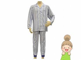【簡単着替えパジャマ 紳士用】 S/M/L/LL 幸和製作所 パジャマ