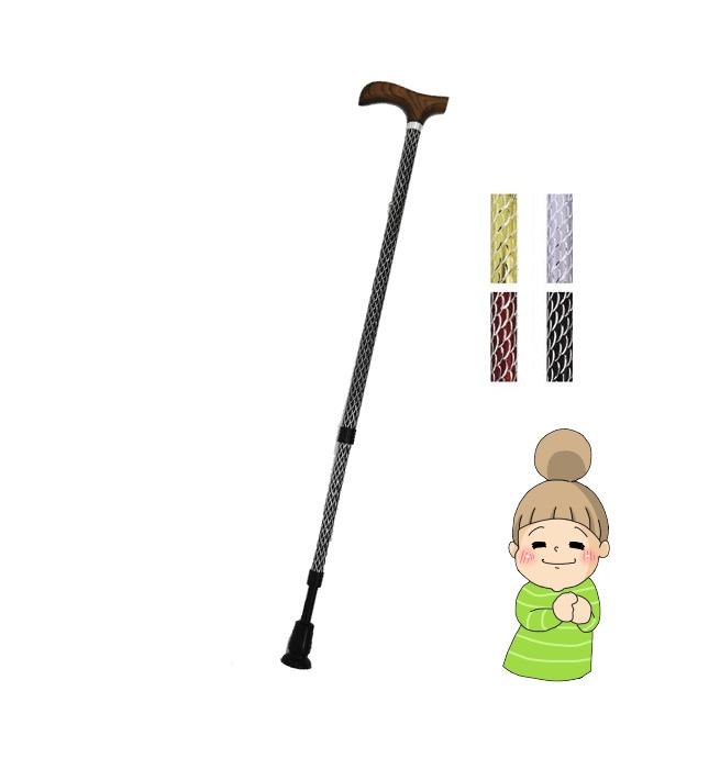 【夢ライフステッキ ルミエ】 ウェルファン 杖 ★送料無料★ 贈り物に最適♪