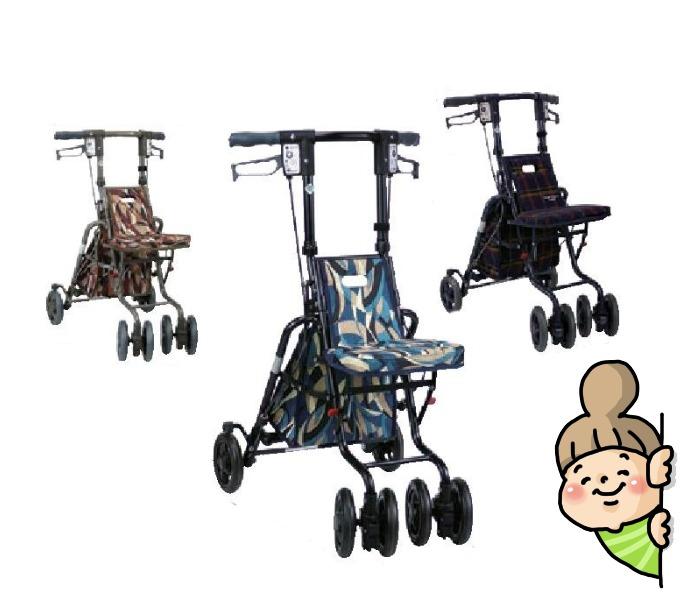【サニーウォーカーSP】 小サイズ 島製作所 シルバーカー軽量タイプ ★送料無料★