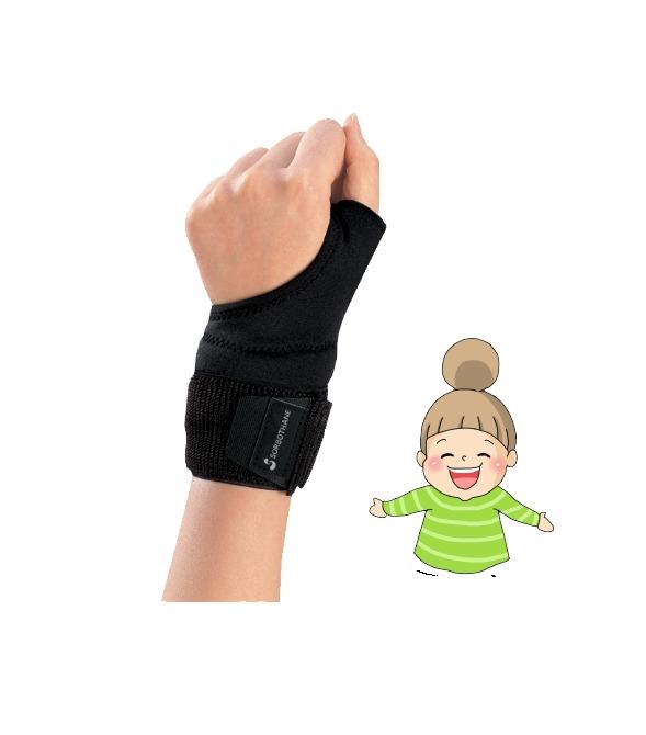 三進興産 固定 動かしやすい 運動制限 高い素材 S M L 右手用 片手 リストサポーター ソルボDo 手首痛対策サポーター 期間限定今なら送料無料 左手用