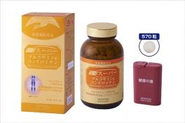 グルコサミンで 毎日をもっと楽しくイキイキと スーパーグルコサミン [並行輸入品] 実物 コンドロイチン