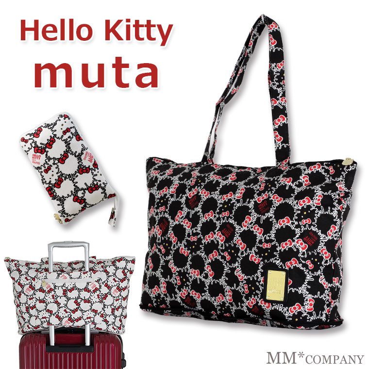 c654a8b67 mm-company: HELLO KITTY meets muta folding tote bag [H0301] Hello ...