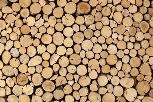 取寄品 Wall made of stacked wood インテリアパネル パネルフレーム IAP51593 キャンバス モダンアート お洒落インテリア