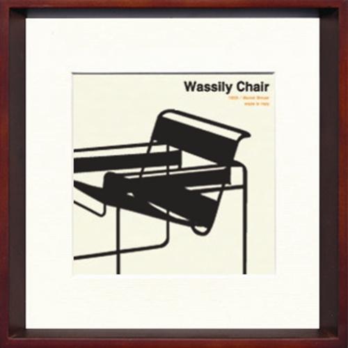 【取寄品】Toshiaki Yasukawa Wassily Chair ITY-14281 インテリアアートポスター【全品ポイント10倍】【ママ割 登録 エントリー 5倍】12/18まで