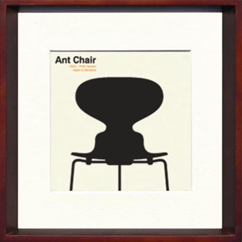 【取寄品】Toshiaki Yasukawa Ant Chair ITY-14283 インテリアアートポスター【全品ポイント10倍】【ママ割 登録 エントリー 5倍】12/18まで