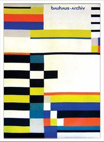 【取寄品】Bauhaus バウハウス Ruth consemuller Gobelin 1930 IBH70040 額付グラフィックアートポスター