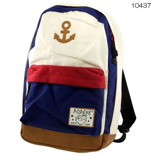 Daypackpopeye /POPEYE / Luc / KLAX (cute) backpack / teens grocery store-all points 2 x 02P01Mar153/5 (tree) up to 3:59.