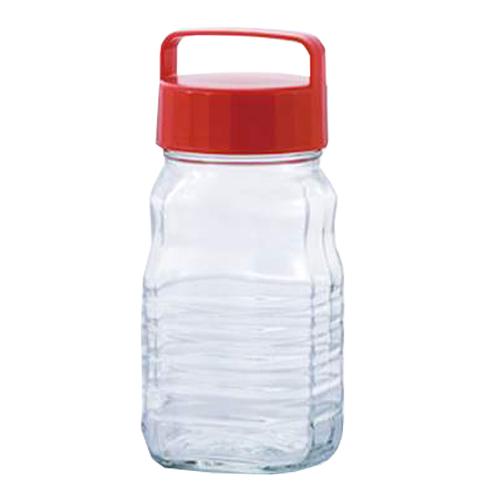 取寄品 果実酒貯蔵ボトル ペットボトル型貯蔵びん 小分けちゃん 12個セット 792 アデリア 1200ml 梅酒ボトル 日本製石塚硝子