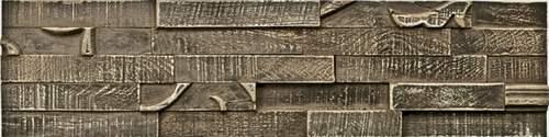 【取寄品】PLADEC プラデック ミッドセンチュリー ウッドクラフトアート ペイントチェストナット ロング ユーパワー 80×20cm ポルトガル製 モダンインテリア