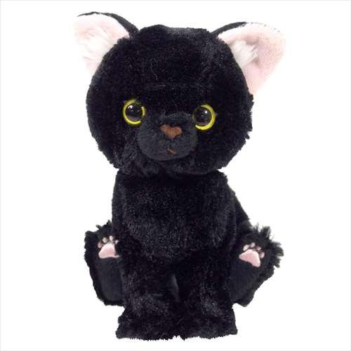 Kitten ぬいぐるみ ぬいぐるみS 黒猫 ネコ CAT ファンシー お気に入り 雑貨 輸入 サンレモン 16.5cm