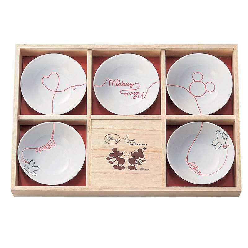 Mickey Mouse Dinnerware gift set appetizer set (box set) five set LOD erode Disney Sango China 11 cm small bowl x 5 gift gadgets fancy gadgets  sc 1 st  Rakuten & Marshmallow pop   Rakuten Global Market: Mickey Mouse Dinnerware ...