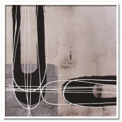 デザイナーズアート Retro 3 Jeremy Cangialosi インテリア アート 美工社 壁掛け 額付き 抽象画 取寄品 マシュマロポップ