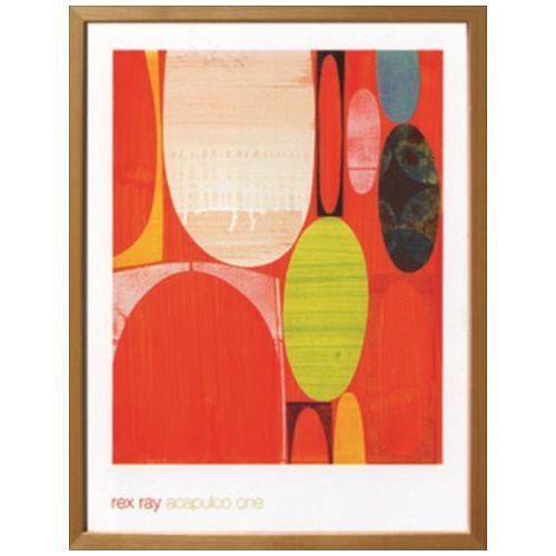 スカンジナビア ART Acapulco One Rex Ray インテリア アート 美工社 壁掛け 額付き グッズ 取寄品 マシュマロポップ