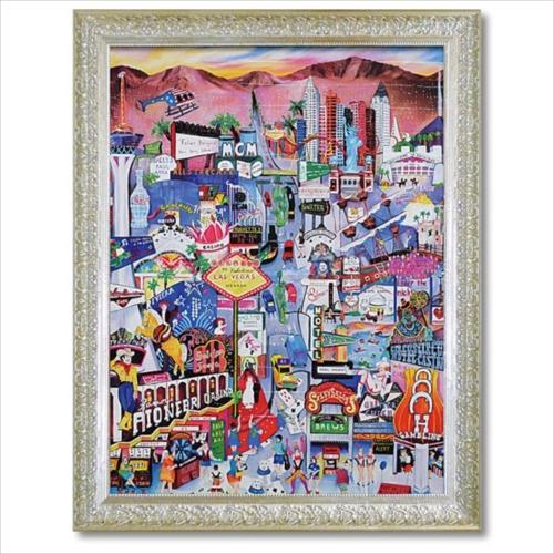 Art Frames ラスベガス リネア パーゴラ ポップアート 額付き ポスター インテリアグッズ 取寄品 マシュマロポップ