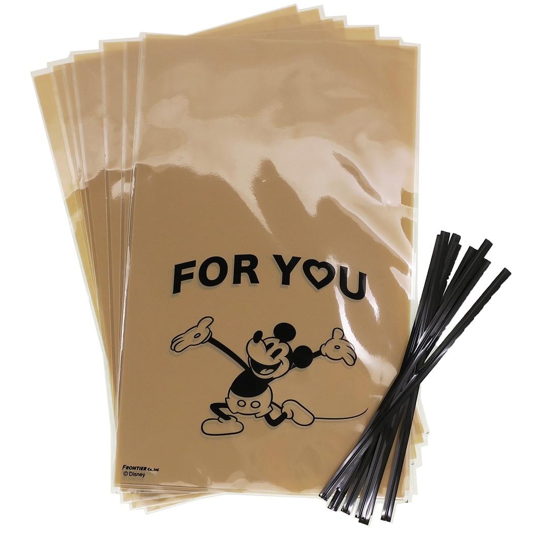 <title>ギフト袋 ワイヤータイ 8セット フォーユー 売れ筋ランキング ミッキーマウス ラッピング 用品 ディズニー フロンティア 11.5×19cm プレゼント包装 ティーンズ ジュニア メール便可 マシュマロポップ</title>