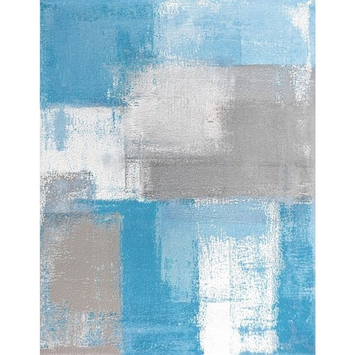 Art Panel Grey and Blue Abstract Art Painting アートパネル モダン アート 美工社 フレームレス ギフト 装飾インテリア 取寄品 マシュマロポップ