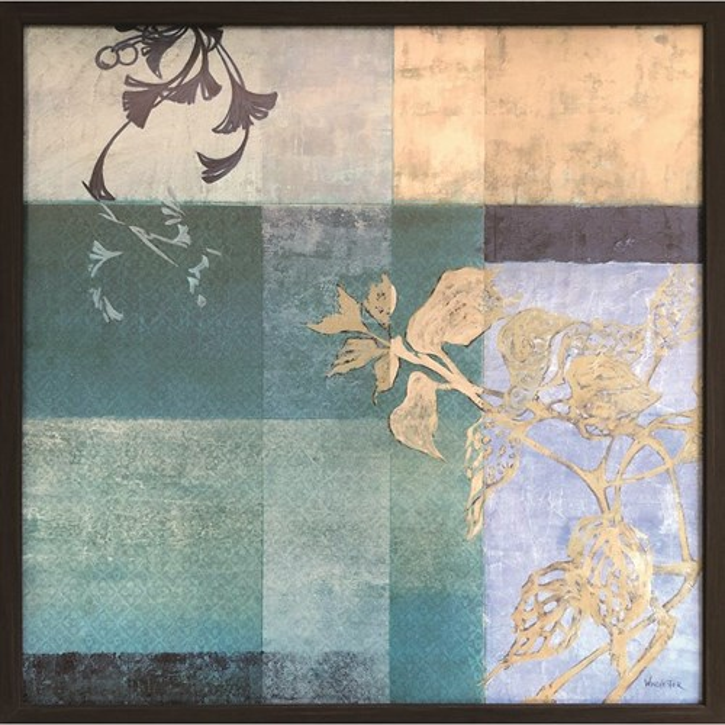 Winchester Floral Collage V ウィンチェスター インテリア パネル 美工社 額装品 ギフト 装飾インテリア 取寄品 マシュマロポップ