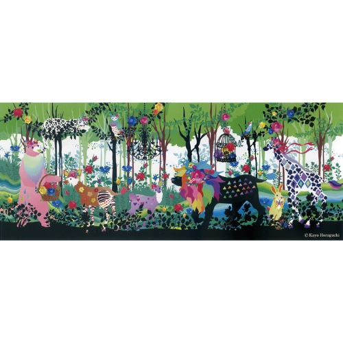 Kayo Horaguchi Promenade ホラグチ カヨ インテリア パネル 美工社 ZKH-52552 フレームレス キャンバスアートインテリア 取寄品 マシュマロポップ