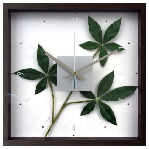パキラ グラブラ CFC-52886 F-style Clock 掛け時計 美工社 ギフト リーフアートインテリア 取寄品 マシュマロポップ