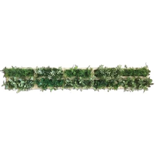 グリーンデコ 10/WH Green Deco ウォールグリーン 美工社 ZGD-52464 光触媒グリーンインテリア 取寄品 マシュマロポップ