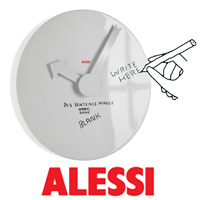 Blank wall clock【アレッシー】【ウォッチ】 失敗しないインテリア 年末インテリア