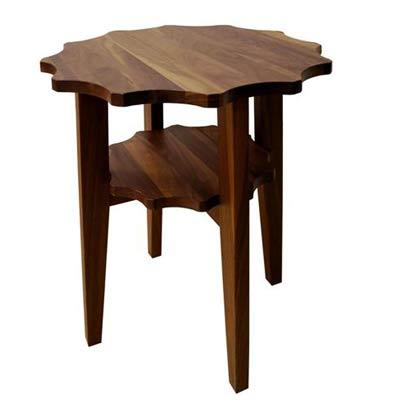 クラッセ CLASSE【Flore フローラ-植物- 45 サイドテーブル】ブラックチェリー  おしゃれなインテリアの作り方 アウトドアリビングが気持ちいい