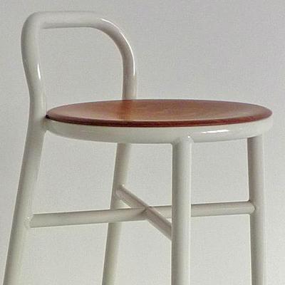 ガーデン チェア カウンターPipe stool パイプスツール/Low-WhiteJASPER MORRISON【マジス】SD1320「JM」 失敗しないインテリア 年末インテリア