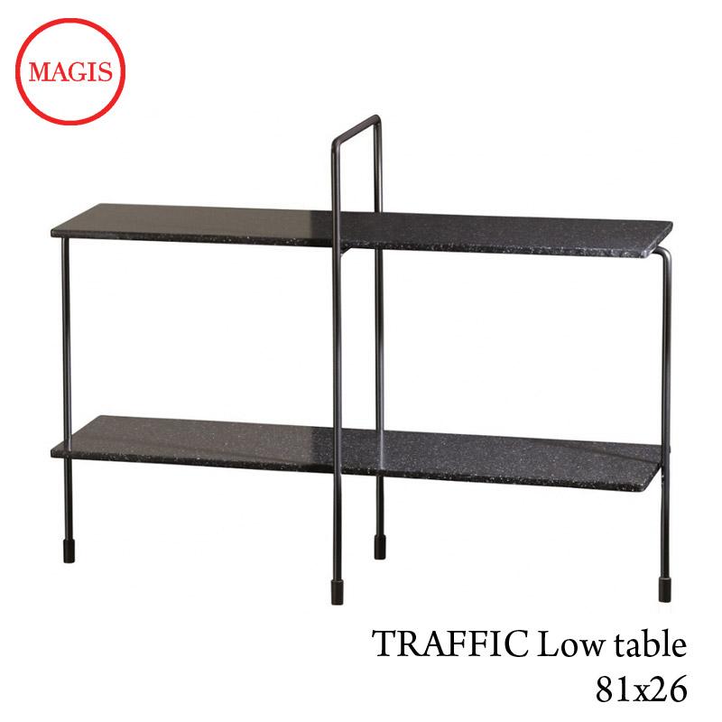 TRAFFIC Low table [TV2700]屋内用トラフィックローテーブル81×26 H49 失敗しないインテリア 年末インテリア