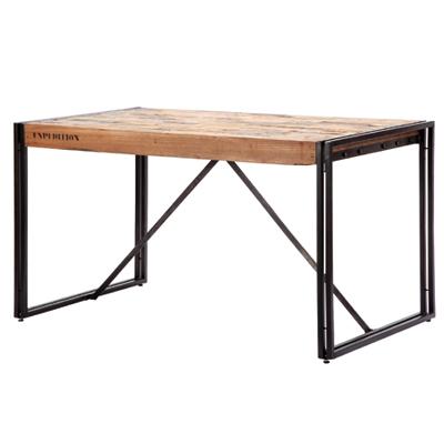 ビンテージ風 ダイニングテーブル 木製【FERUM INDUSTRIAL DINING TABLE】110875 W1300 新生活 気持ち切替スイッチ インテリアコーディネート