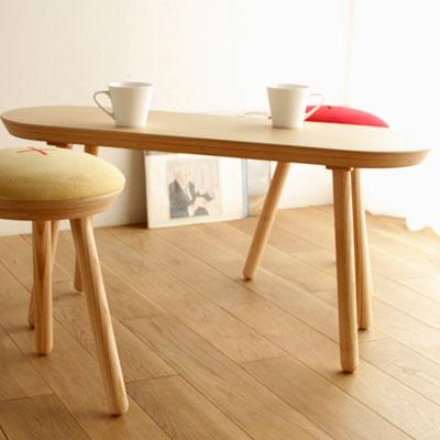 机【MUFFIN Table マフィン テーブル】【日本製】 新生活 気持ち切替スイッチ インテリアコーディネート