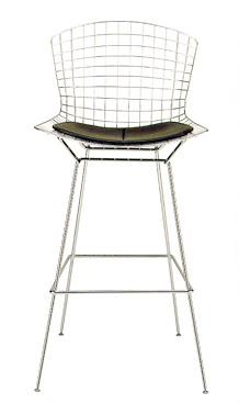 椅子【ハリー・ベルトイア ベルトイアハイチェア C】国内在庫あり  おしゃれなインテリアの作り方 アウトドアリビングが気持ちいい