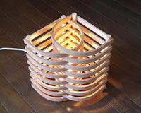 木製ライト 扇 - ougi - 失敗しないインテリア 年末インテリア
