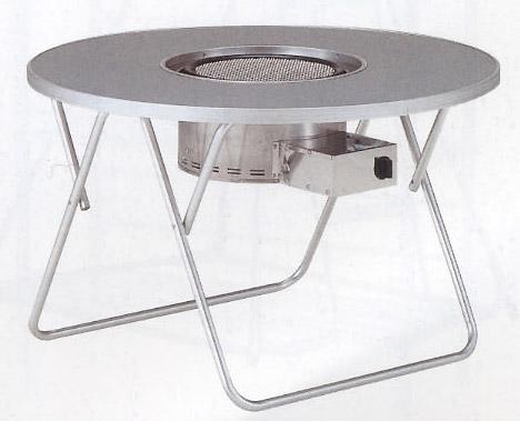 グリルテーブル(アルミ)BTY-1L2 ガーデニングテーブルグリル別売(プロパンガス) 冬こそ楽しいインテリア 私に効く部屋づくりのコツ