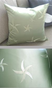 クッションカバー シルク45×45【DragonEra spuare silk cushion】新春クッション開運 失敗しないインテリア 年末インテリア