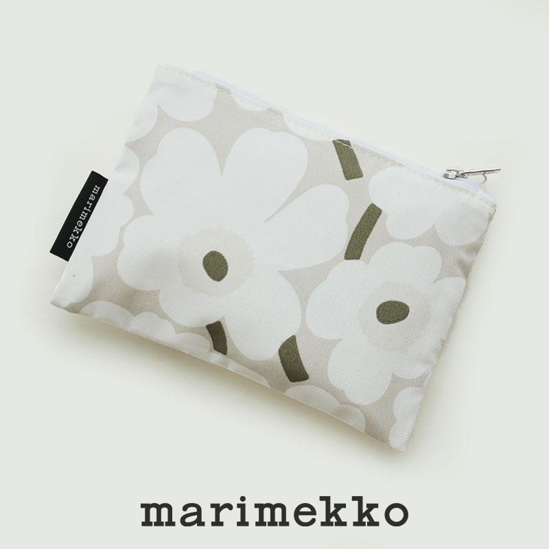 SALE対象外 marimekko マリメッコ 交換無料 Mini Kaika 52209-4-70252 送料無料新品 Unikko ポーチ