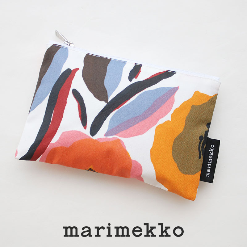 SALE対象外 格安 価格でご提供いたします marimekko マリメッコ Rosarium 52209-4-70255 ☆国内最安値に挑戦☆ ポーチ Kaika