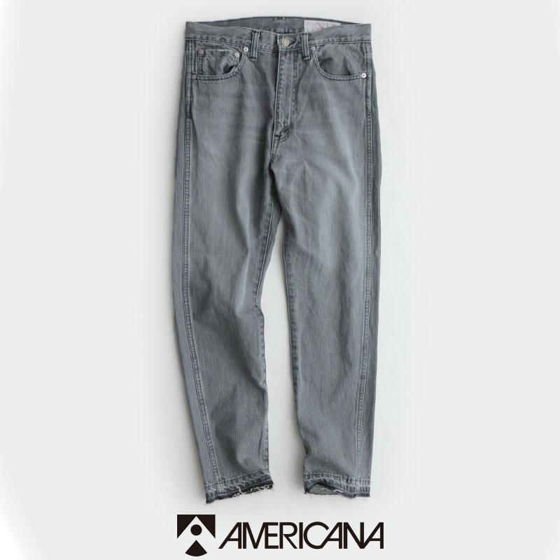 【2020SS】AMERICANA アメリカーナ テーパード5ポケットジーンズ AL-380 USED【RCP】