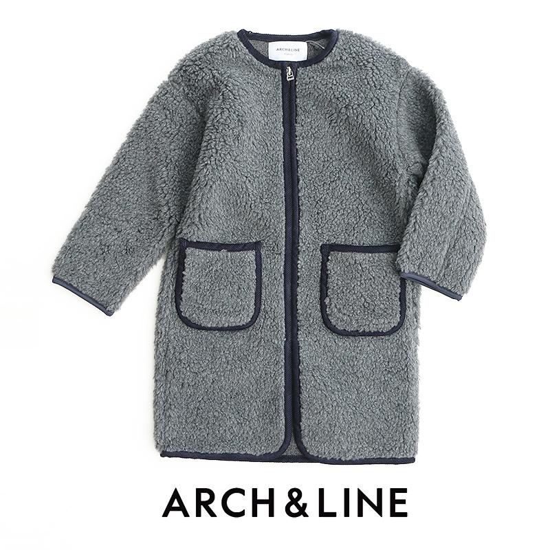 d【SALE対象外】【2018AW】【送料無料】【kids】ARCH&LINE アーチアンドライン ボアロングコート AL812911