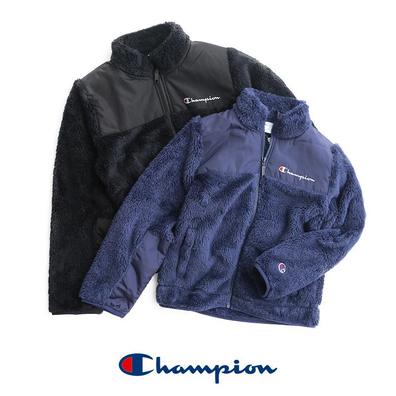 【2019AW】【kids】Champion チャンピオン フリースジャケット CS6253